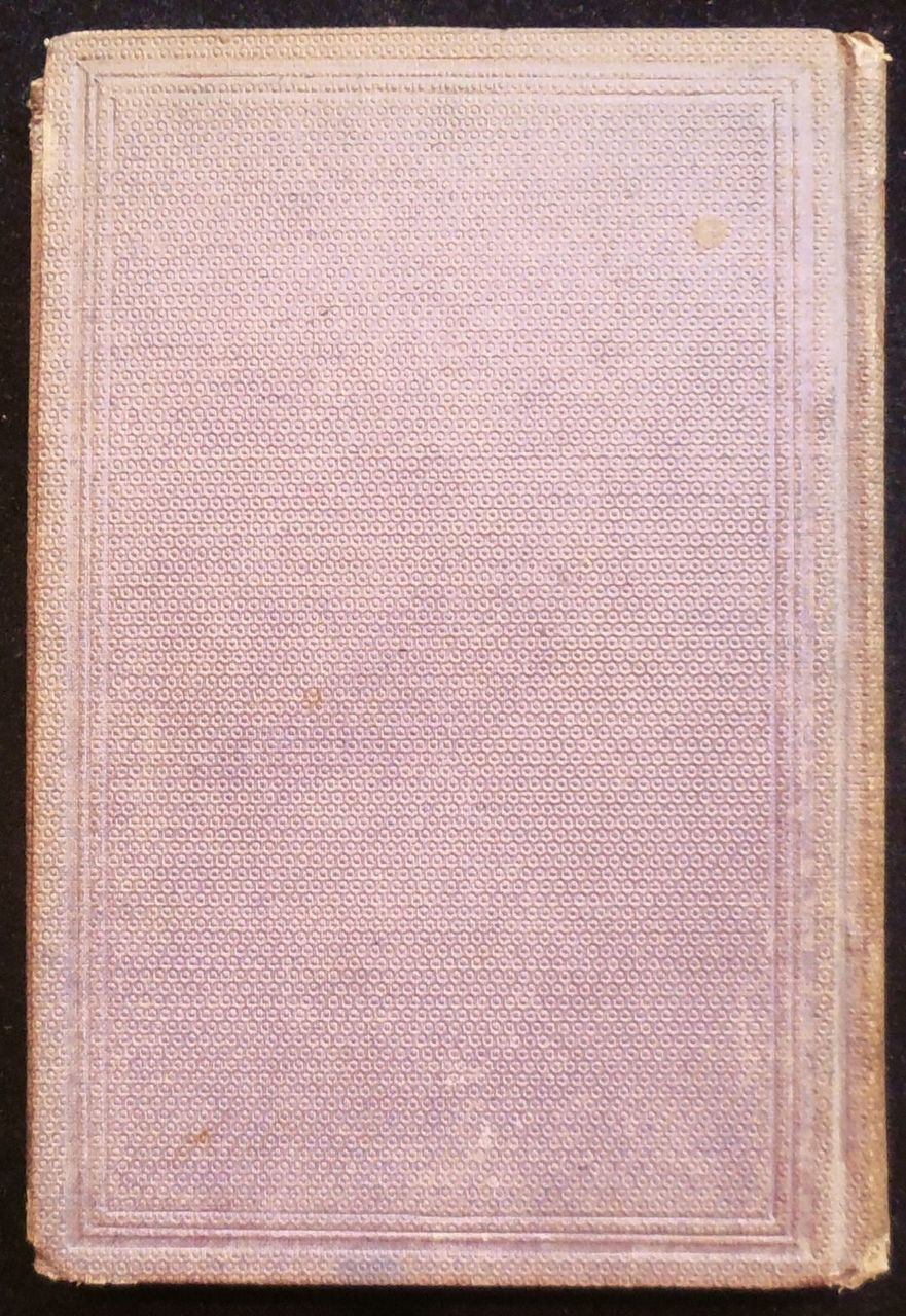 JOURNAL OF RACHEL WILSON MOORE, by George Truman - 1867 [1st Edition]