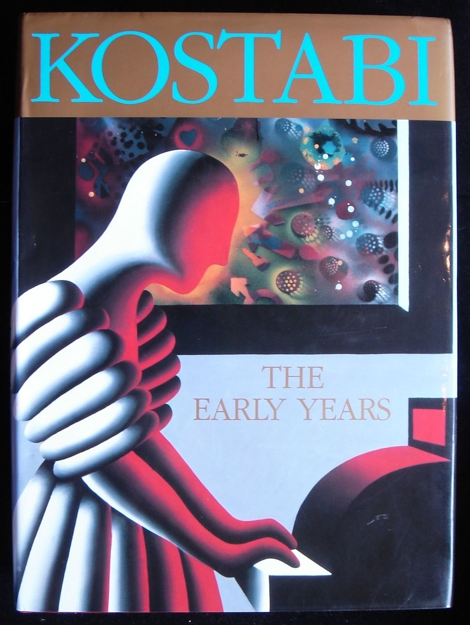 KALEV MARK KOSTABI - THE EARLY YEARS, by Basil Chattington 1990 First Edition