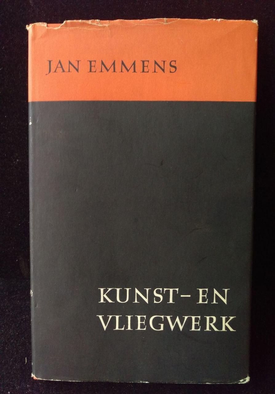 KUNST - EN VLIEGWERK, by Jan Emmens - 1957 [Signed, 1st Ed] Dutch