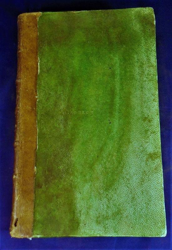 LETTRES ELEMENTAIRES SUR LA BOTANIQUE, by J.J. Rousseau -1789