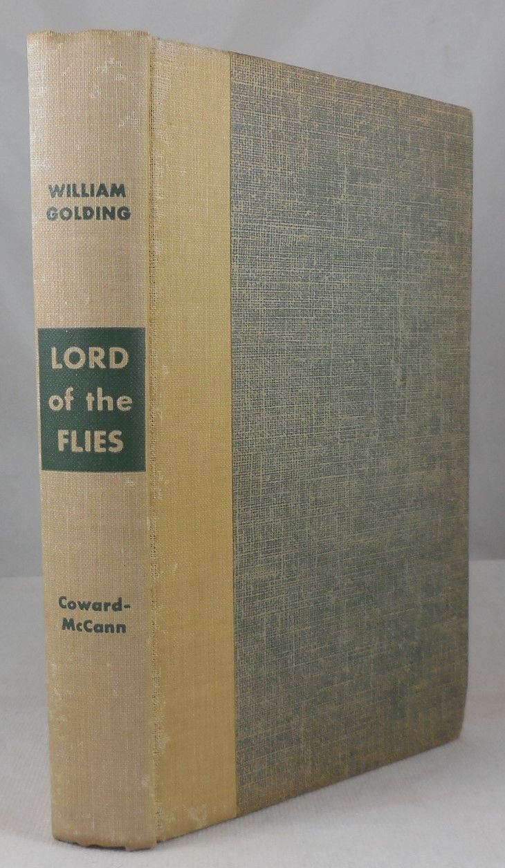 LORD OF THE FLIES, by William Golding - 1955 [1st US Ed]