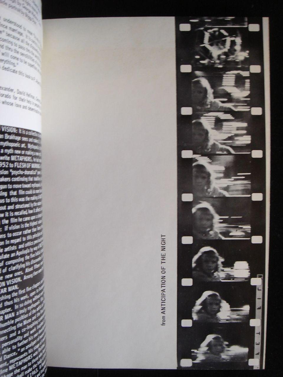 METAPHORS ON VISION, by Brakhage - 1976