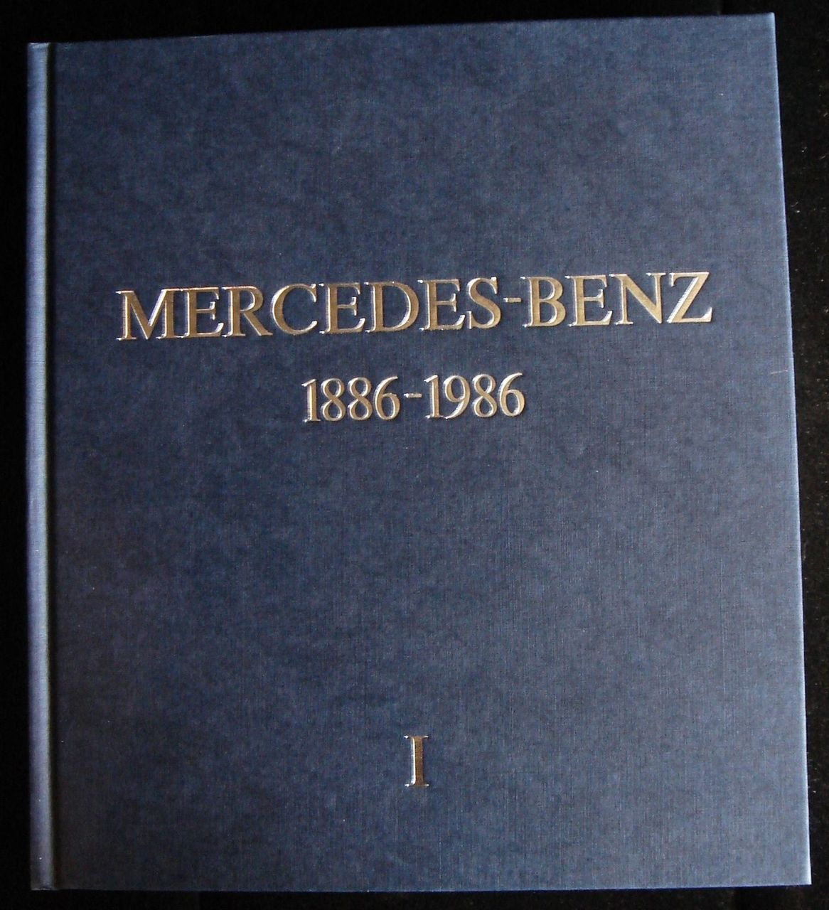 MERCEDES BENZ 1886-1986, by Jurgen Lewandowski - 1986