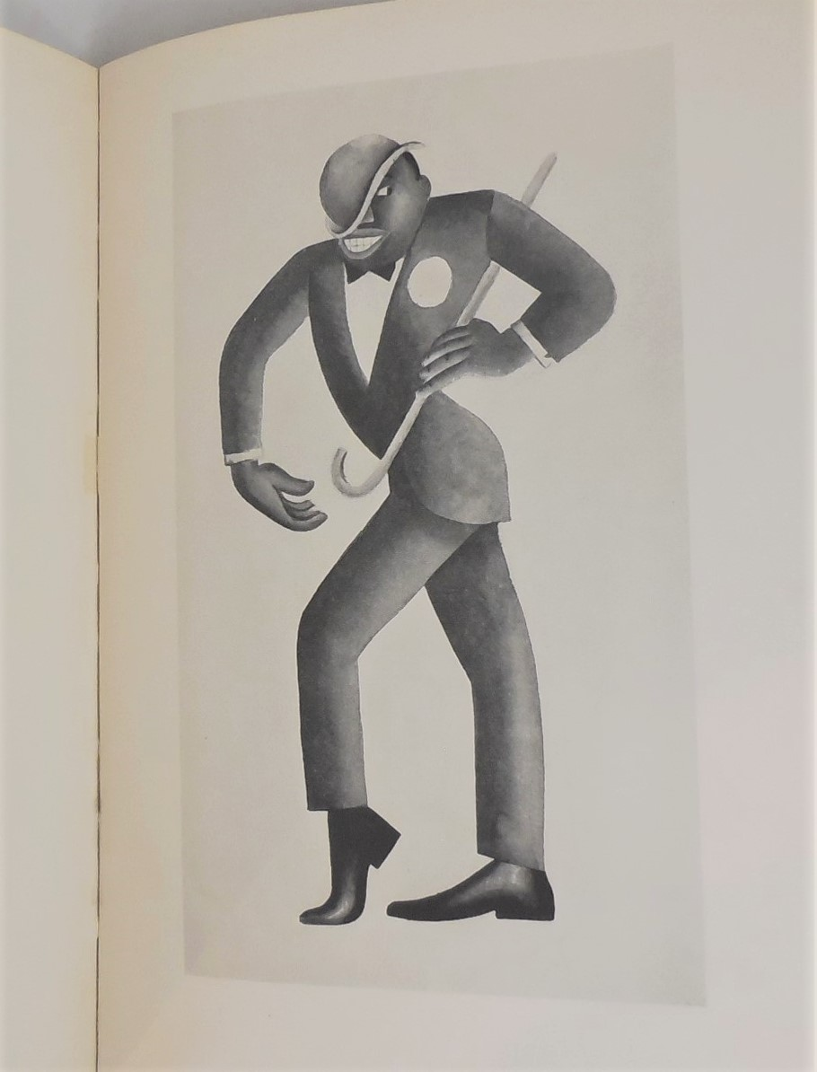 NEGRO DRAWINGS, by Miguel Covarrubias - 1927 [1st Ed]