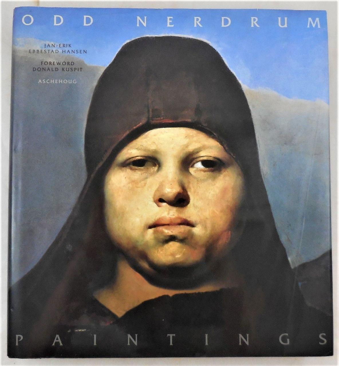 ODD NERDRUM: PAINTINGS, Jan-Erik Ebbestad Hansen, 1996 bio Norwegian scarce DJ