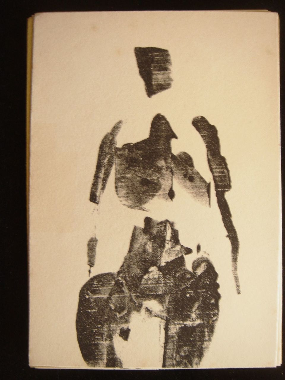 OEDIPUS Poetry: Robert Lax, Original LITHOGRAPH Prints: Emil Antonucci SIGNED