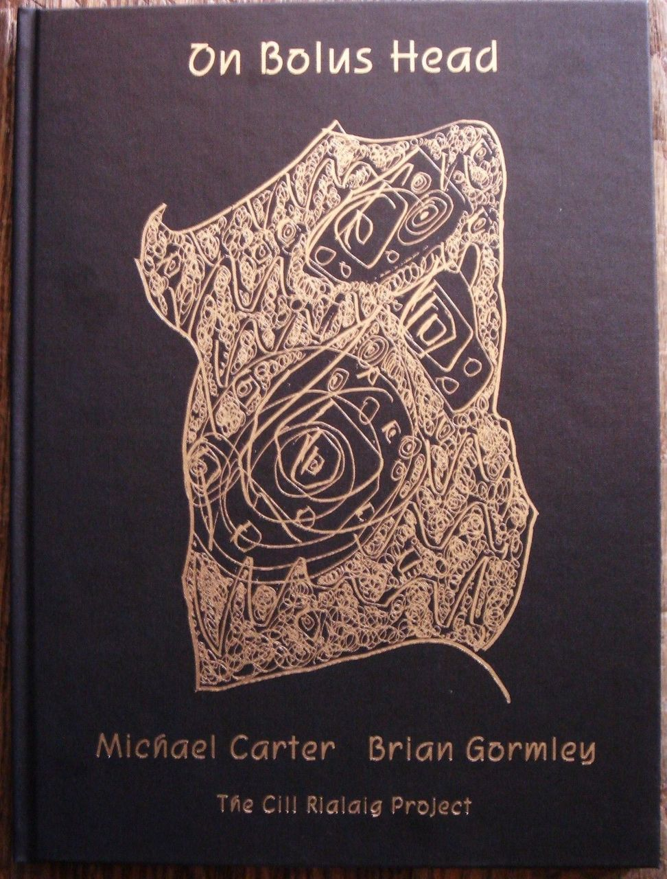 ON BOLUS HEAD Poetry & Etchings Michael Carter, Brian Gormley; Ireland table bk