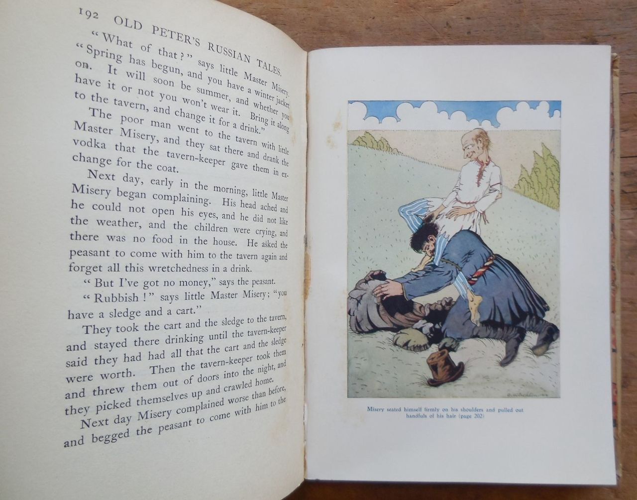 OLD PETER'S RUSSIAN TALES, by Arthur Ransome, illus. by Dmitry Mitrohin - 1918 [1st US Ed]