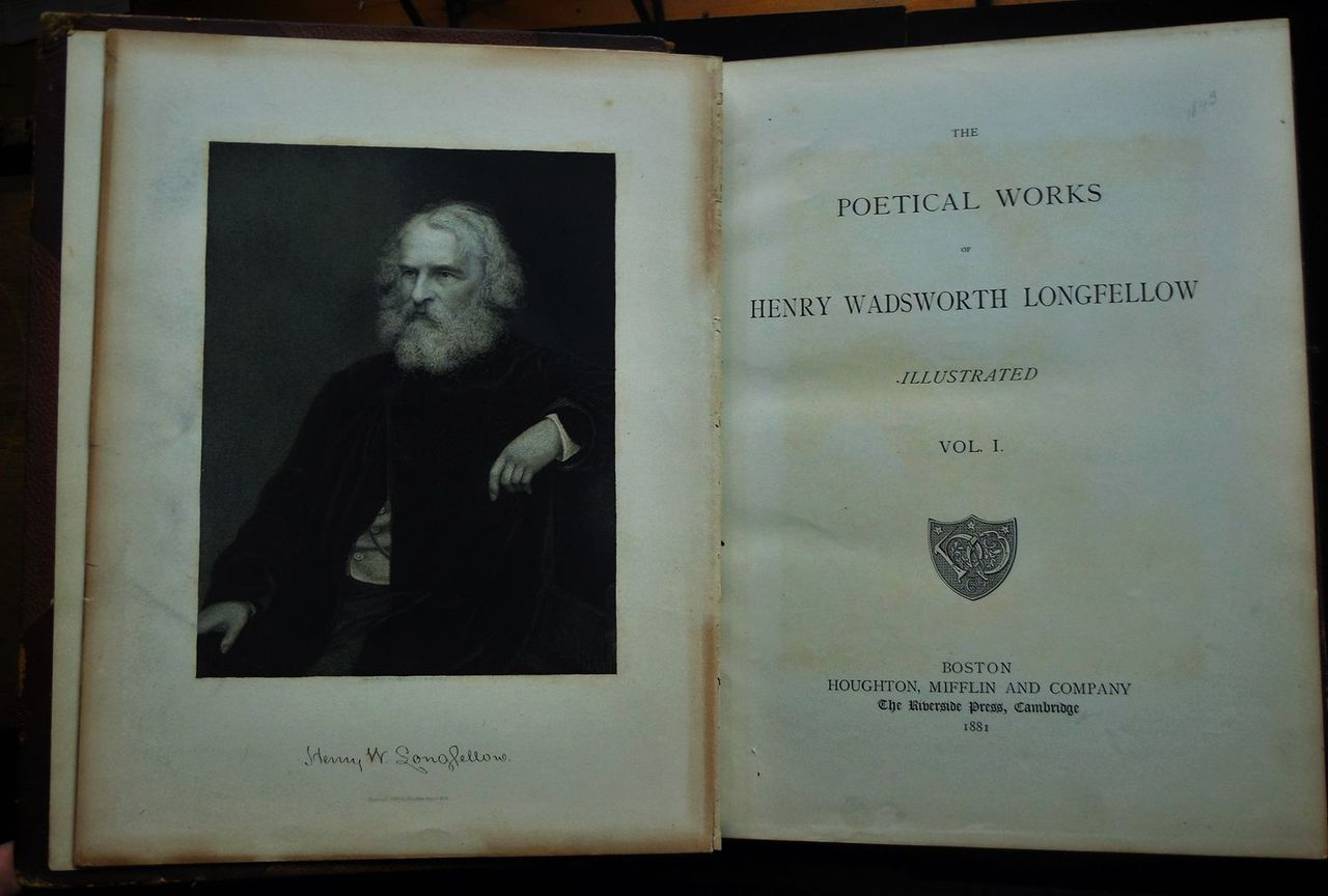 POETICAL WORKS BY LONGFELLOW - 1881