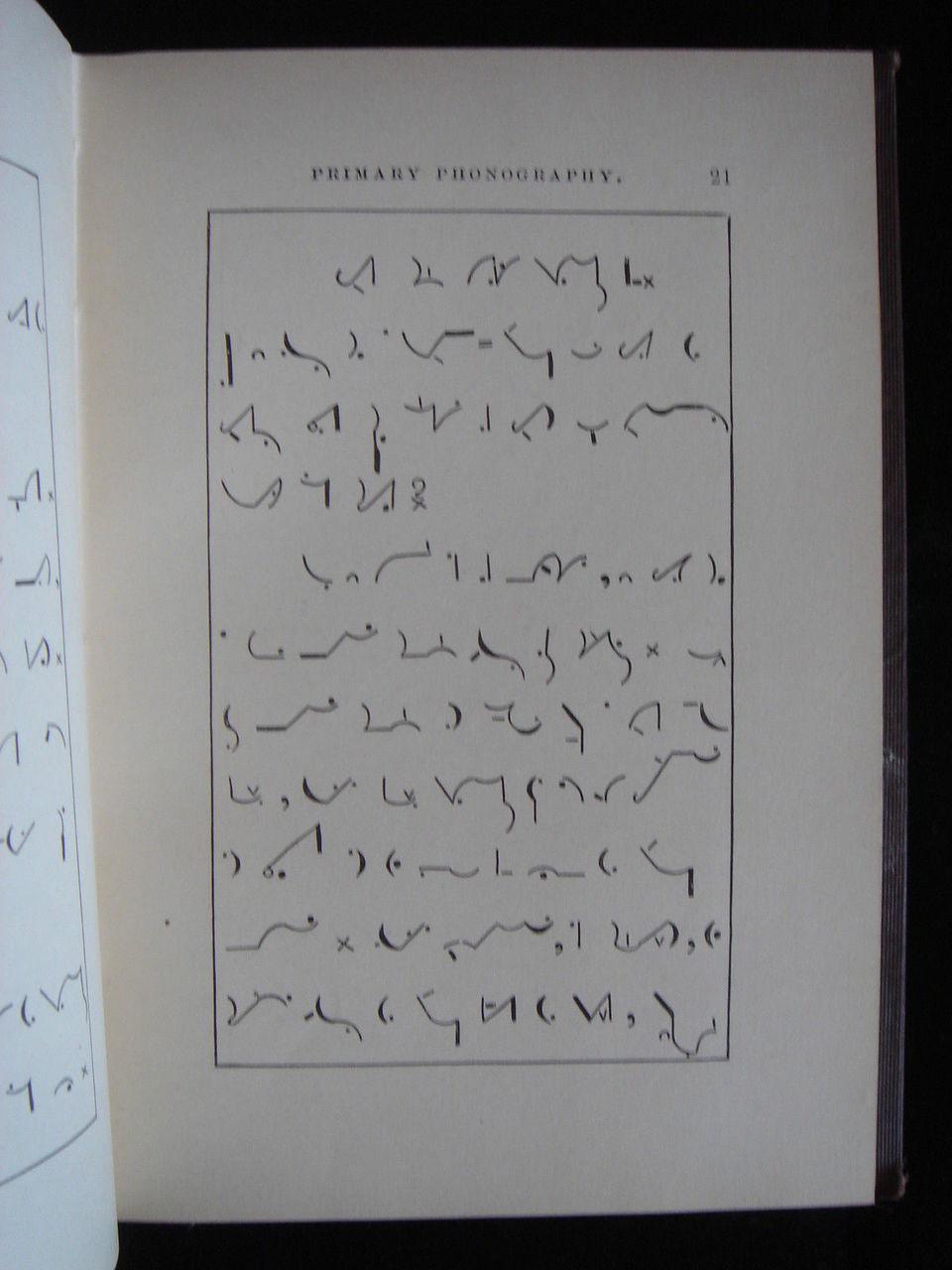 PRIMARY PHONOGRAPHY (Pitman), by Ida C. Craddock - 1884