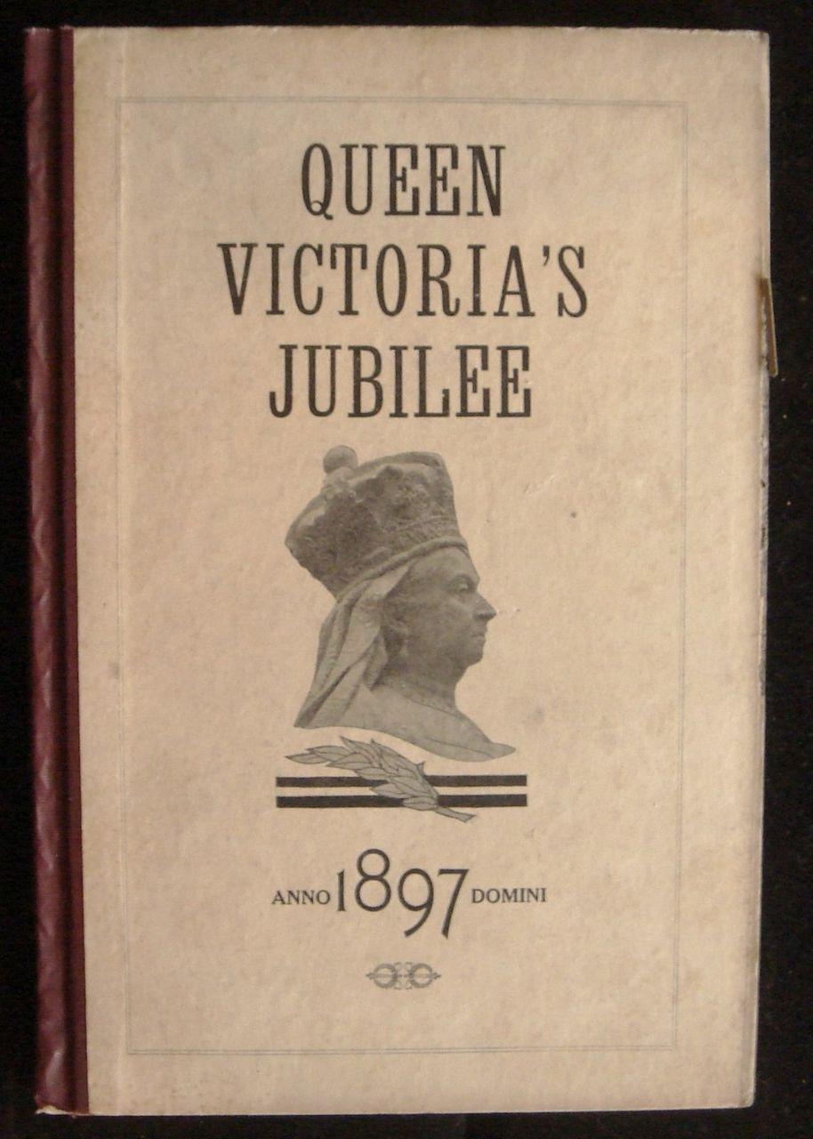 QUEEN VICTORIA'S DIAMOND JUBILEE MARK TWAIN FIRST EDITION RARE BRITISH ROYALTY