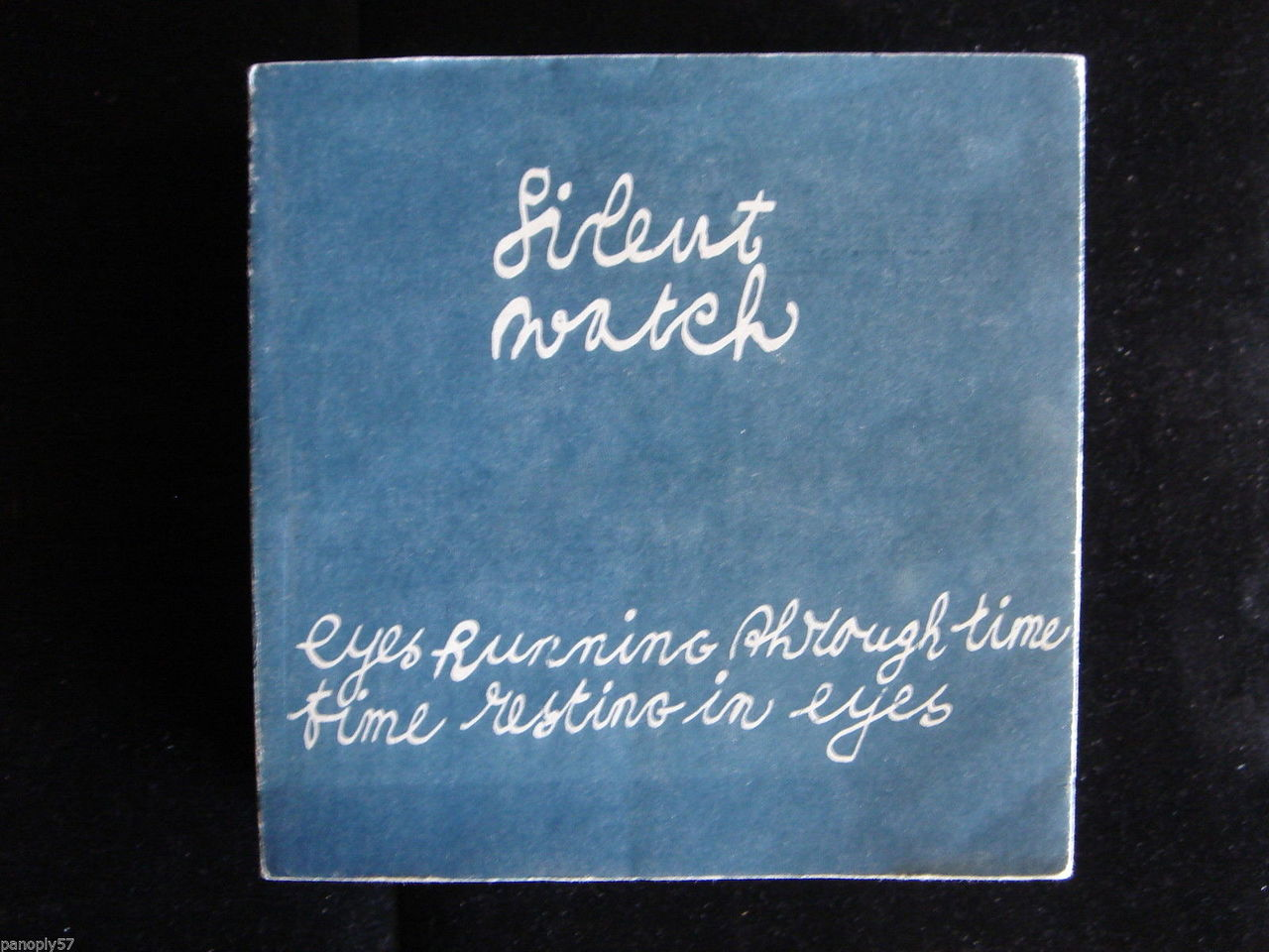 SILENT WATCH: EYES RUNNING THROUGH TIME, TIME RESTING IN EYES; by Cornelia Hoedeman - 1990 [Signed Ltd Ed]