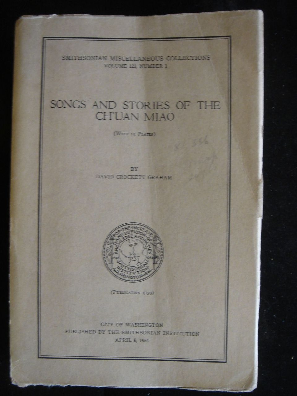 Songs & Stories of the Ch'uan Miao - 1954