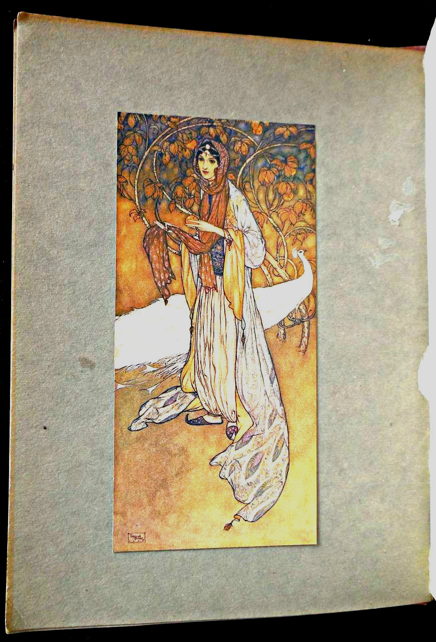 STORIES FROM THE ARABIAN NIGHTS, by Laurence Housman; Edmund Dulac (illus) - 1907