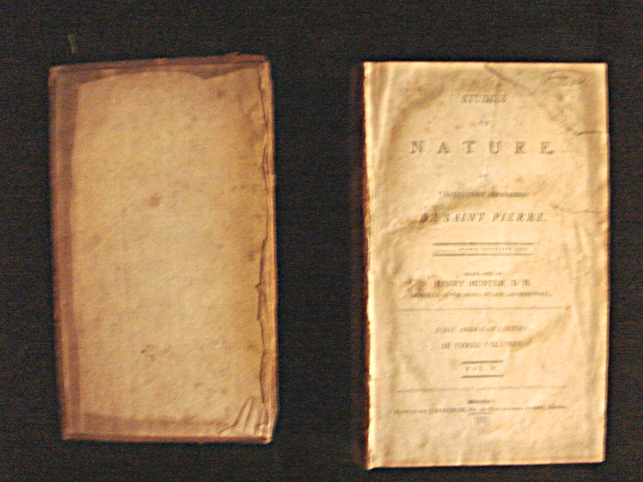 Studies of Nature James Henry Bernardin De Saint Pierre Henry Hunter 1797