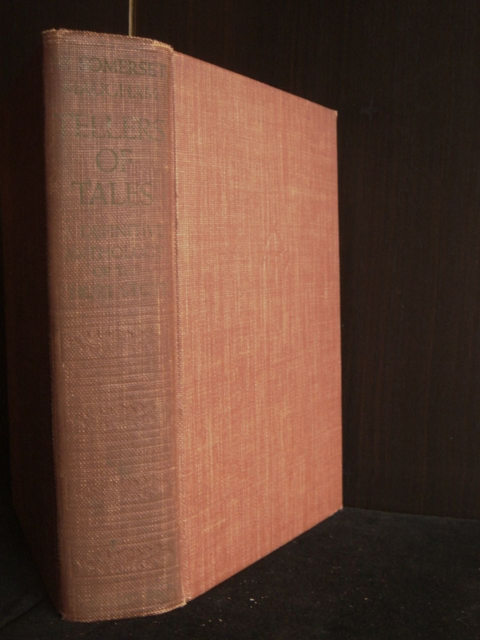 TELLER OF TALES, by Somerset Maugham - 1939