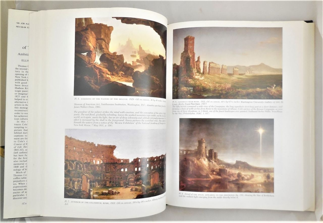 THE ART OF THOMAS COLE: AMBITION AND IMAGINATION, by Parry - 1988