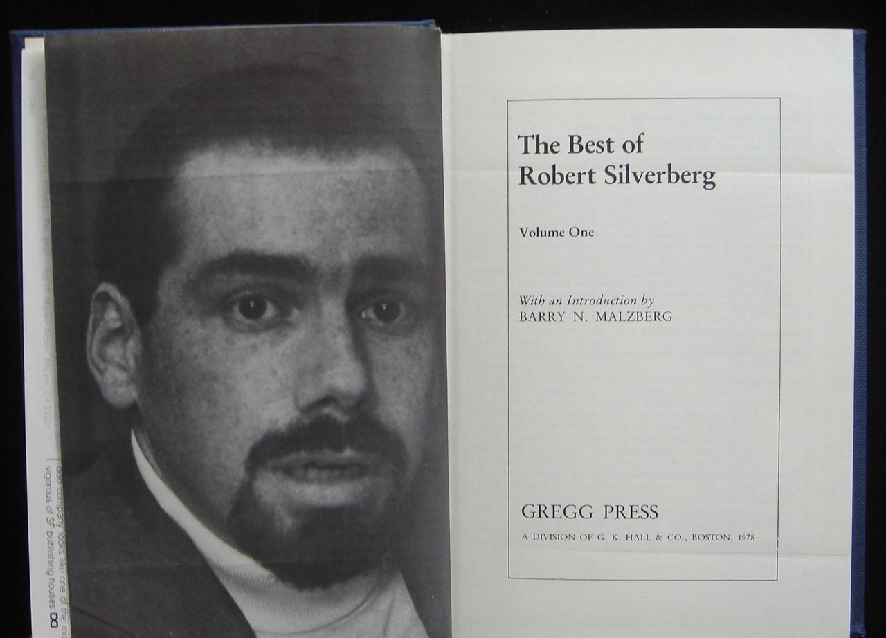THE BEST OF ROBERT SILVERBERG, by Robert Silverberg 1998 Science Fiction Stories
