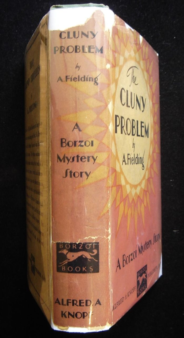 THE CLUNY PROBLEM, by A. Fielding - 1929 [1st Ed]