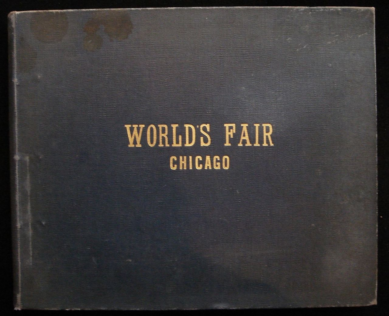 THE COLOMBIAN GALLERY: A PORTFOLIO OF PHOTOGRAPHS FROM THE WORLD'S FAIR, 1894
