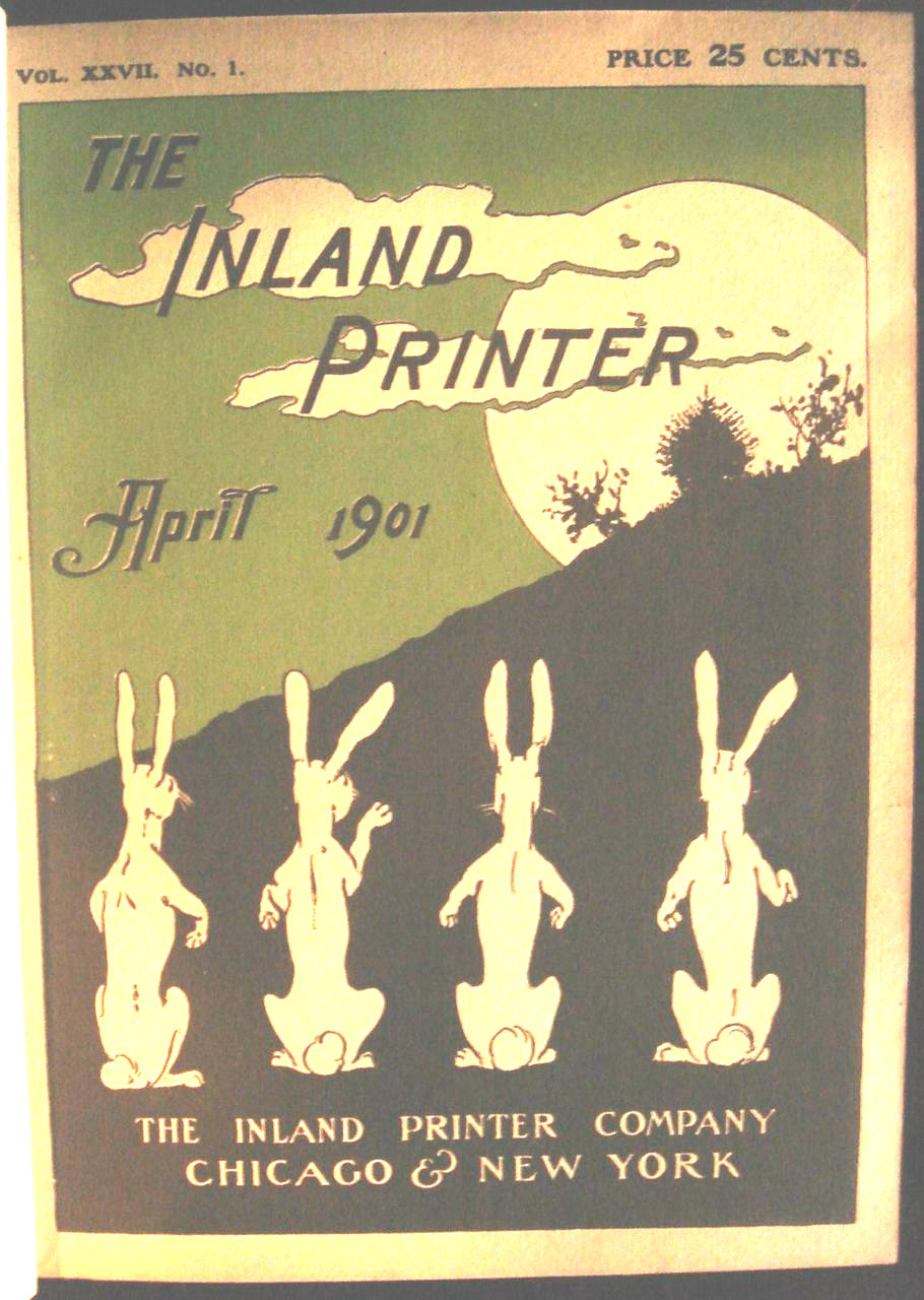 THE INLAND PRINTER: A TECHNICAL JOURNAL - 1901 [Bound Vols]
