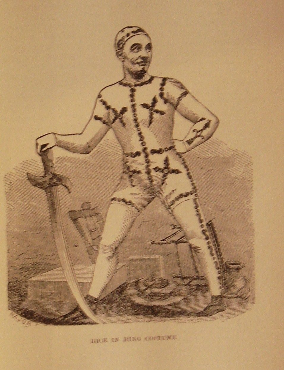 THE LIFE OF DAN RICE, by Maria Ward Brown - 1901