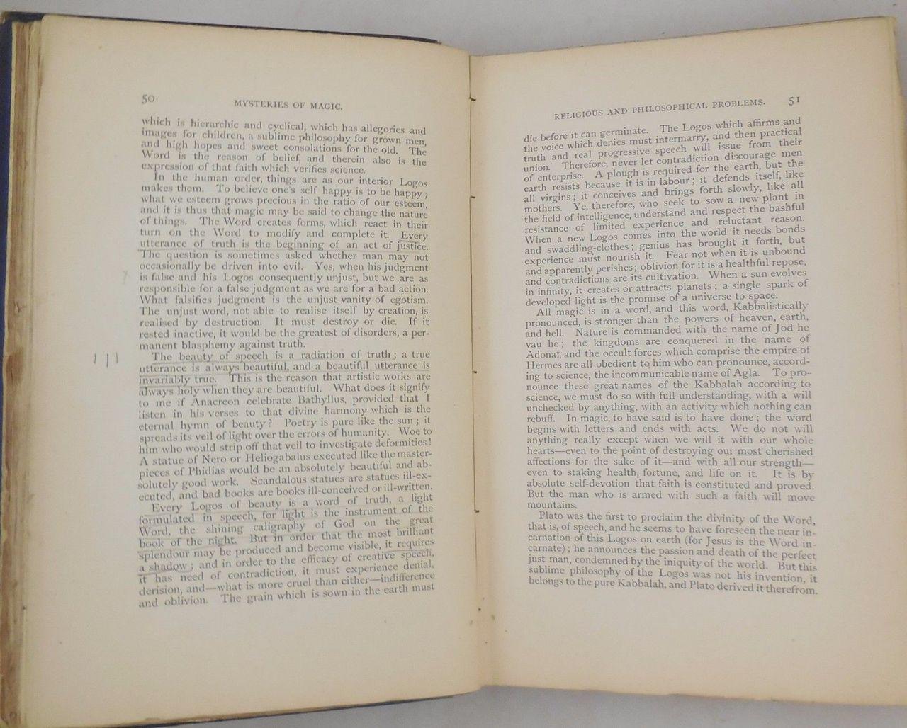 THE MYSTERIES OF MAGIC, by Arthur Edward Waite - 1886 [1st Ed]