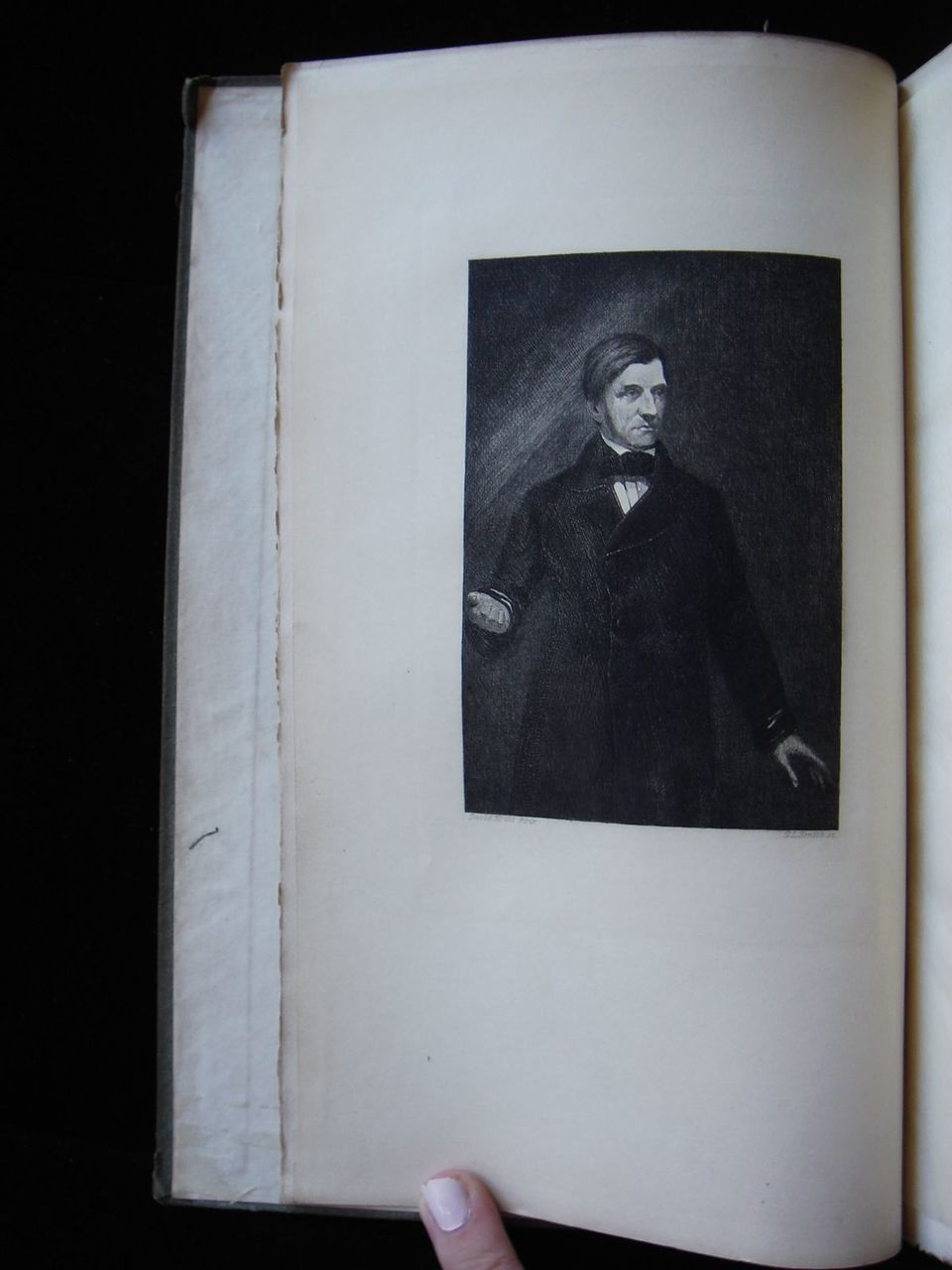 THE PERSONALITY OF EMERSON 1903 Sanborn 263/500 Scarce FIRST ED Concord School
