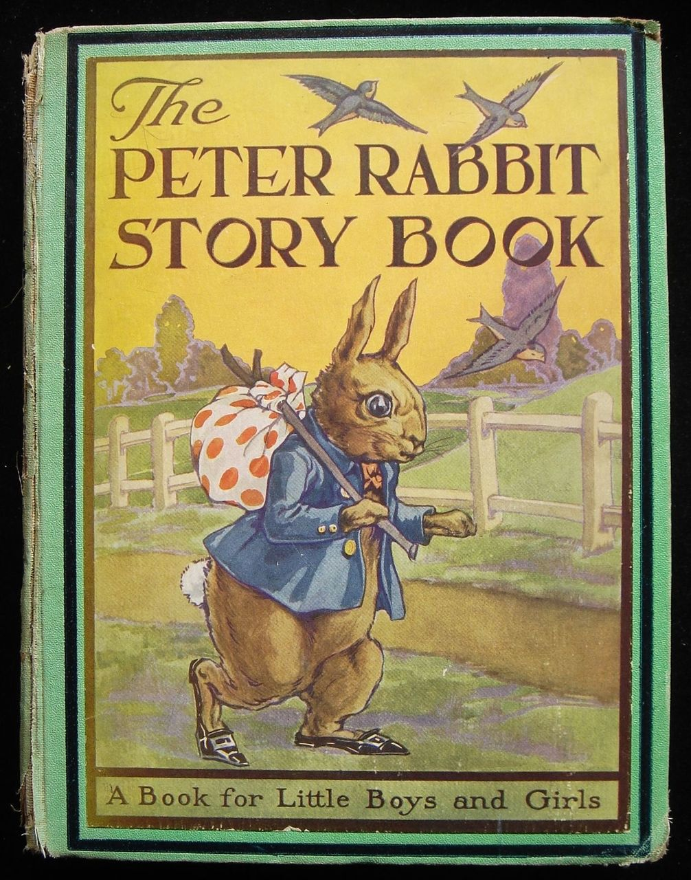 THE PETER RABBIT STORY BOOK FOR LITTLE BOYS AND GIRLS, by Beatrix Potter 1935