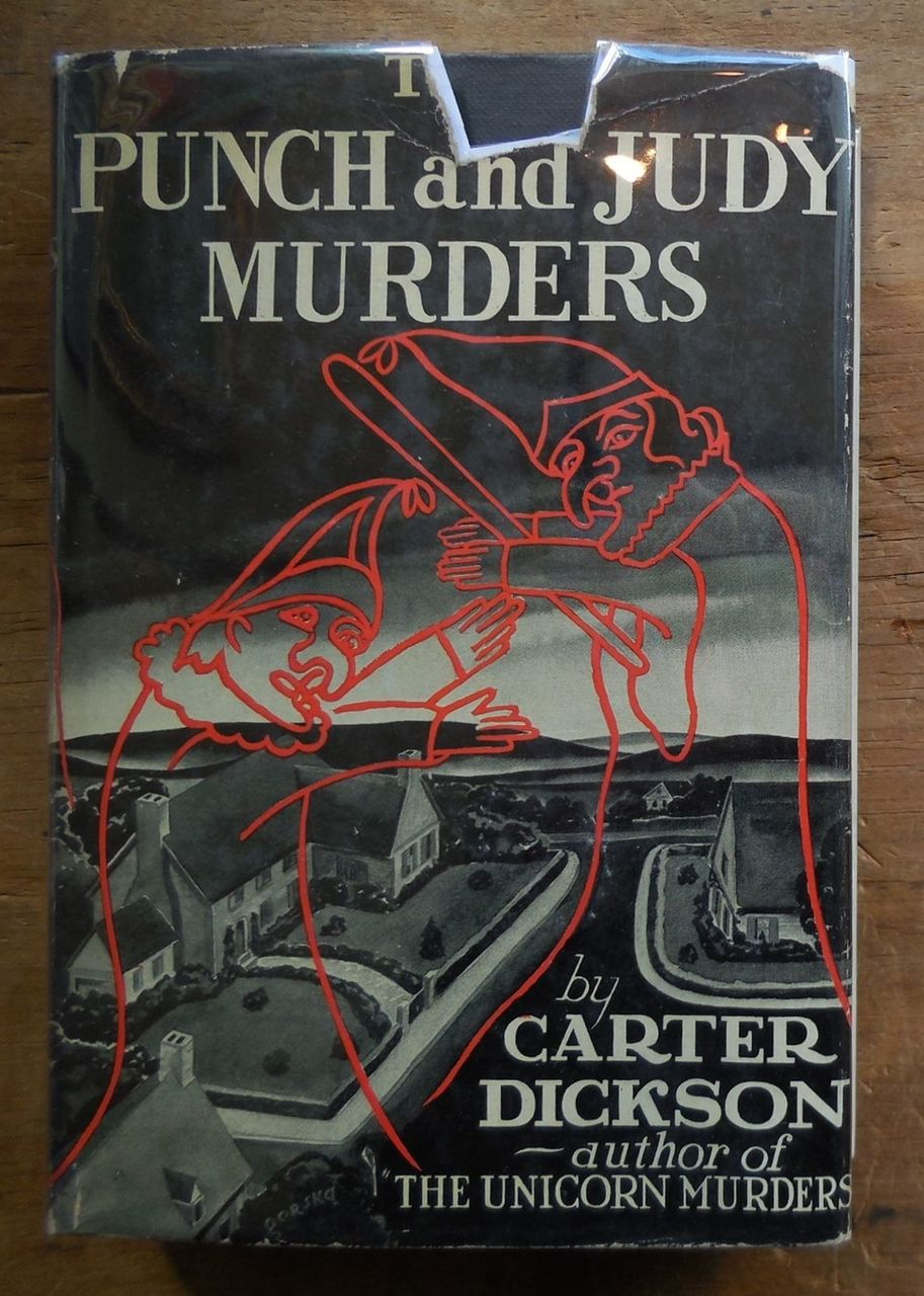 THE PUNCH AND JUDY MURDERS, by Carter Dickson - 1937