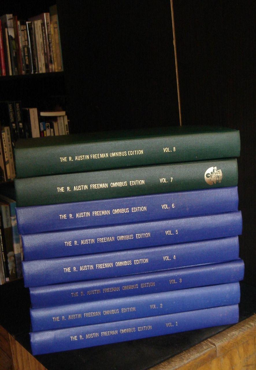 THE R. AUSTIN FREEMAN OMNIBUS EDITION VOL. 1-8, by R. Austin Freeman 1999 Scarce
