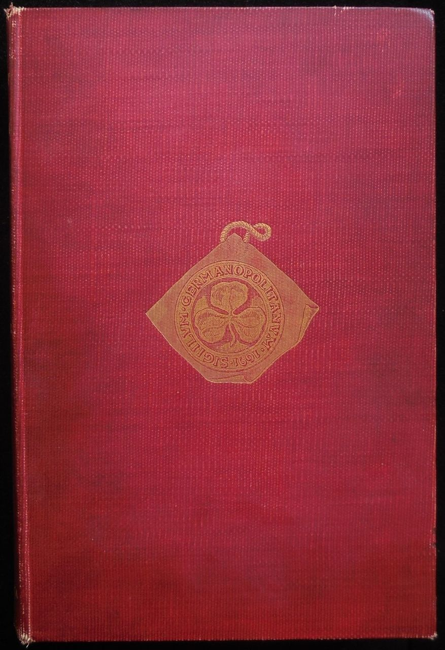THE SETTLEMENT OF GERMANTOWN, by Samuel W. Pennypacker - 1899