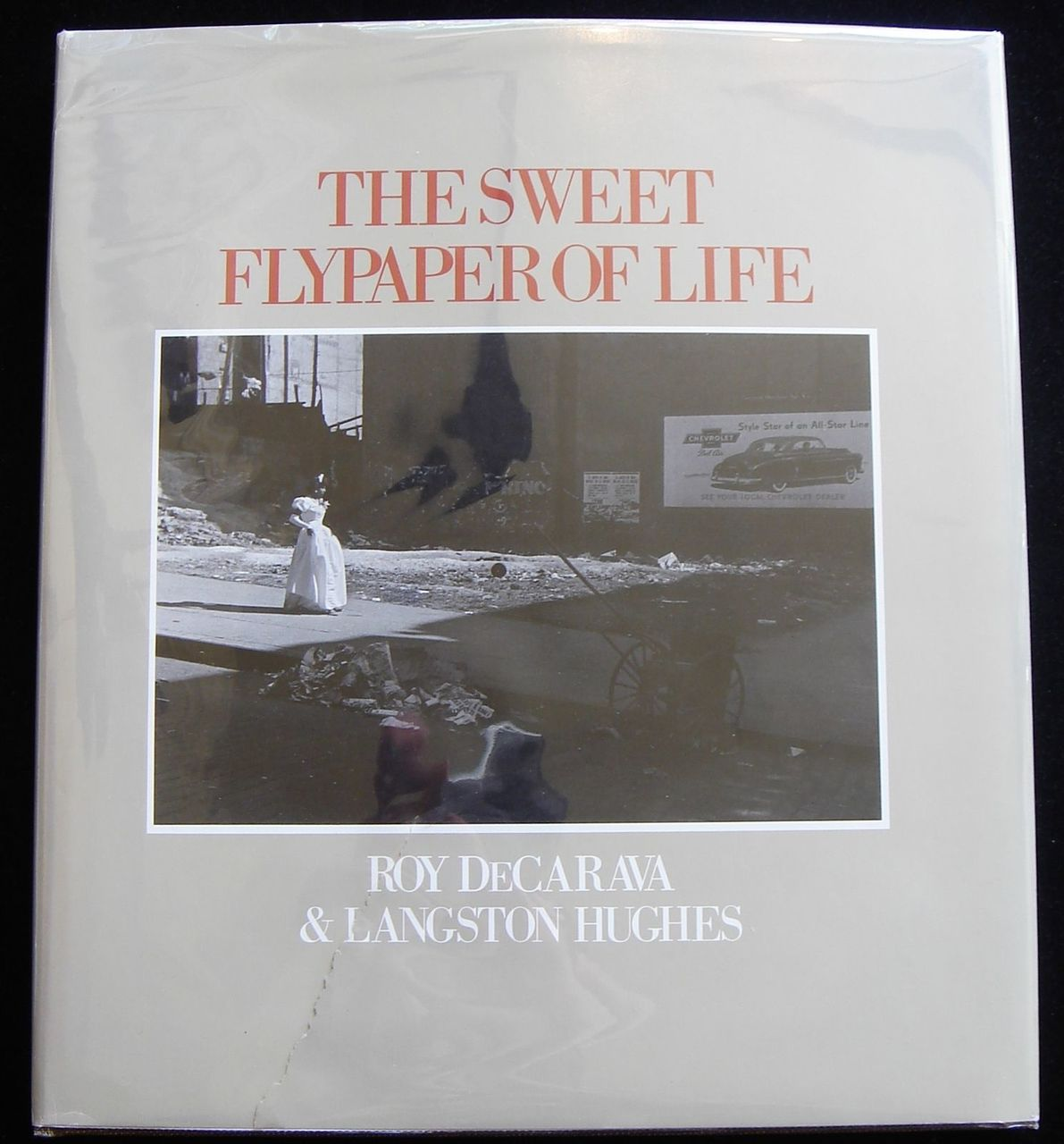 THE SWEET FLYPAPER OF LIFE, by Roy DeCarava; Langston Hughes  - 1984 [Signed]