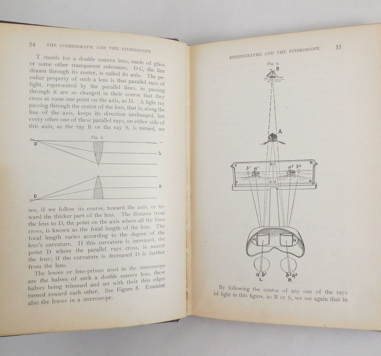 THE STEREOGRAPH AND THE STEREOSCOPE, by Albert E. Osborne - 1909 [Signed 1st Ed]