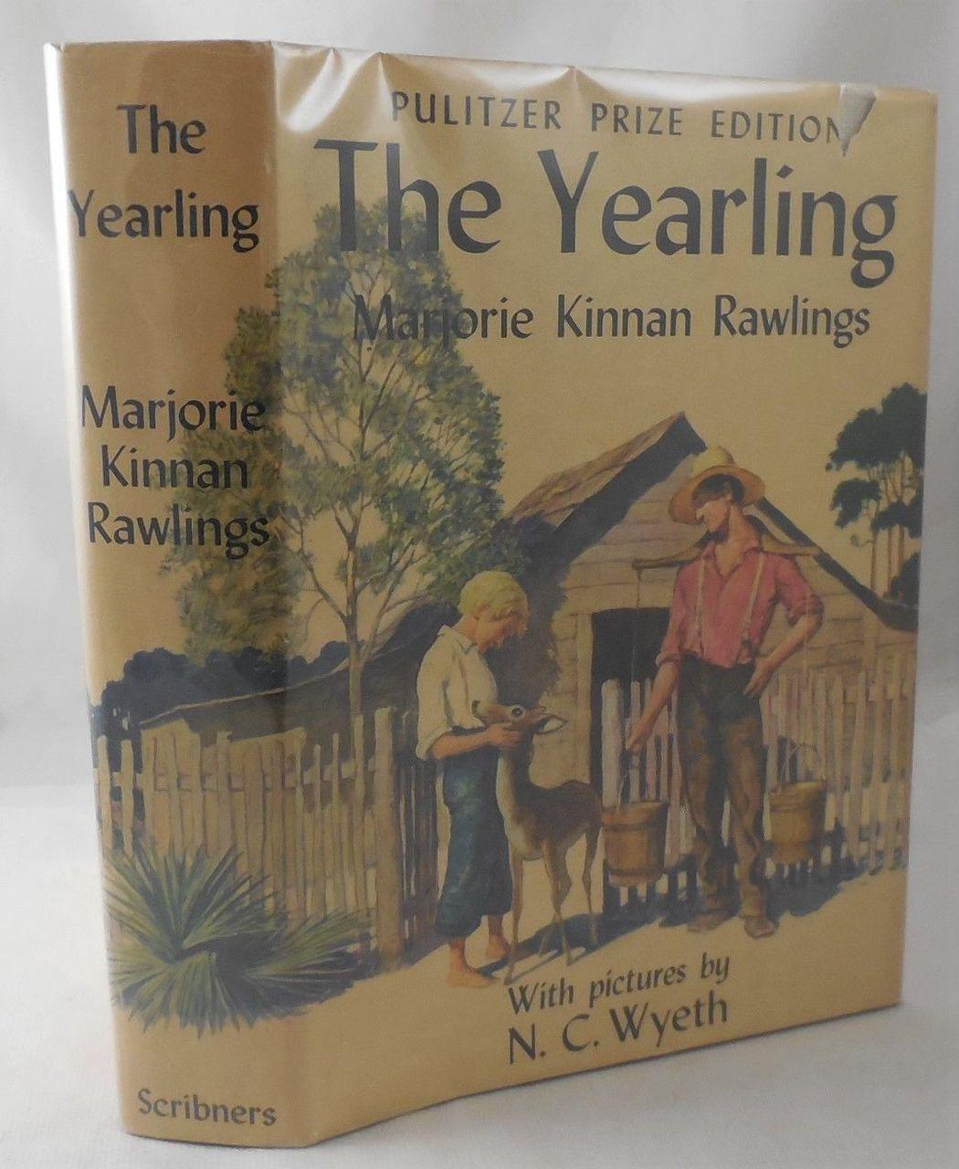 THE YEARLING, by Marjorie Kinnan Rawling -1939 [1st Ed]