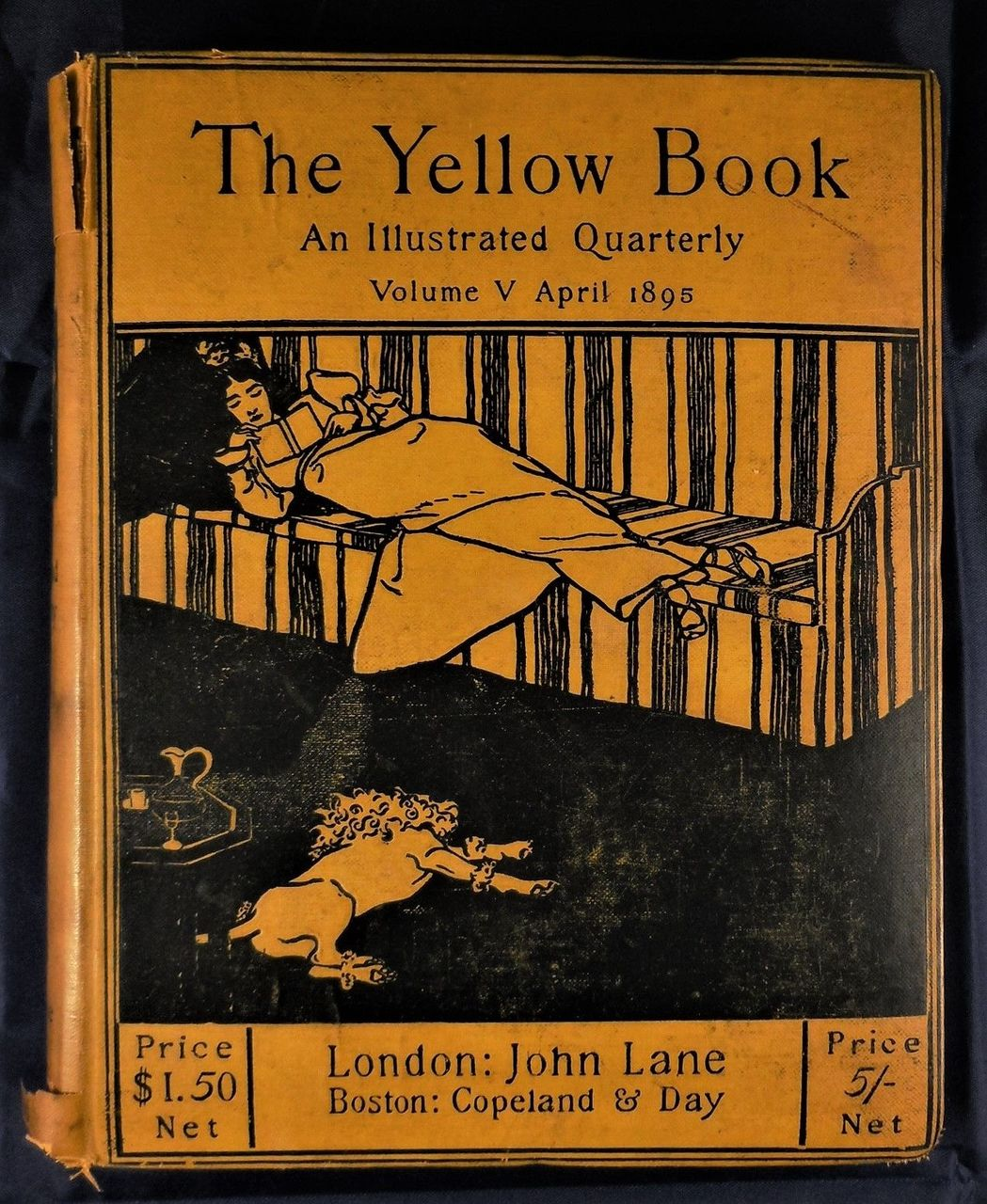 THE YELLOW BOOK, Vol. 5, An Illustrated Quarterly - 1895