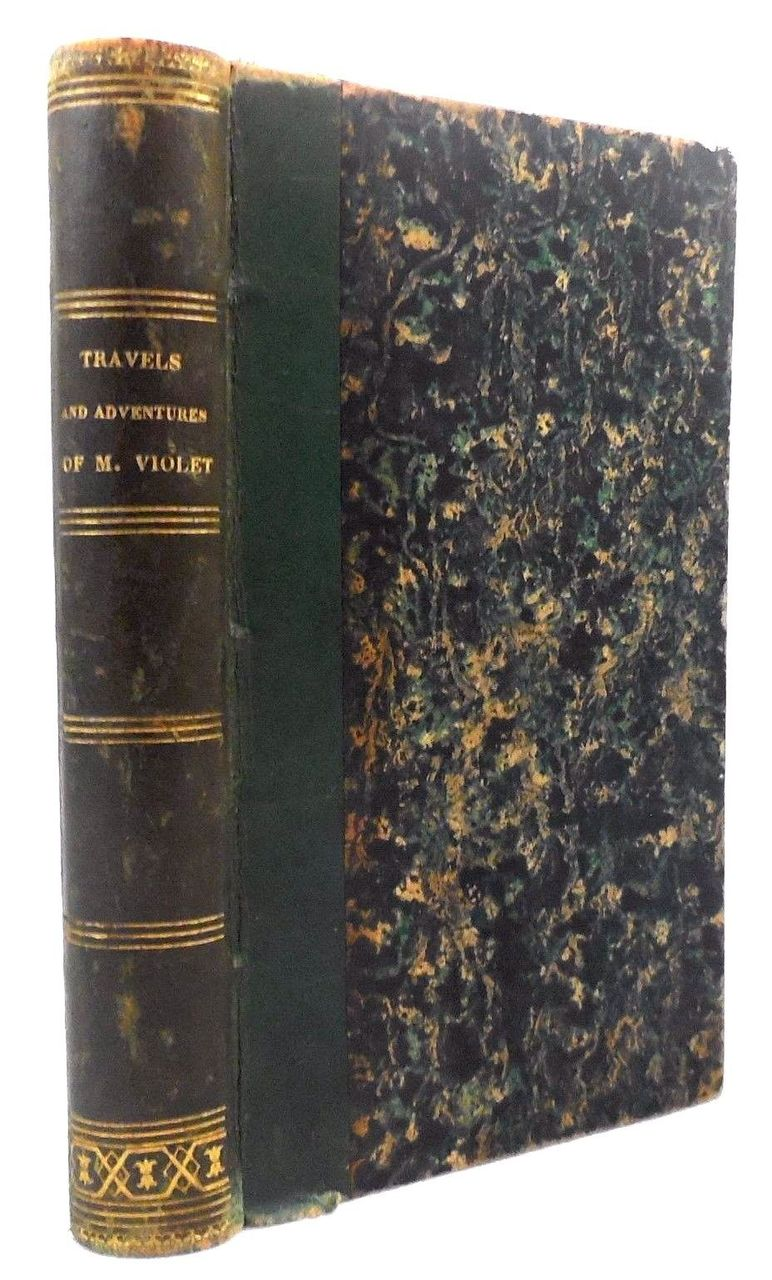 TRAVELS AND ADVENTURES OF MSSR VIOLET, by Capt Marryat - 1844