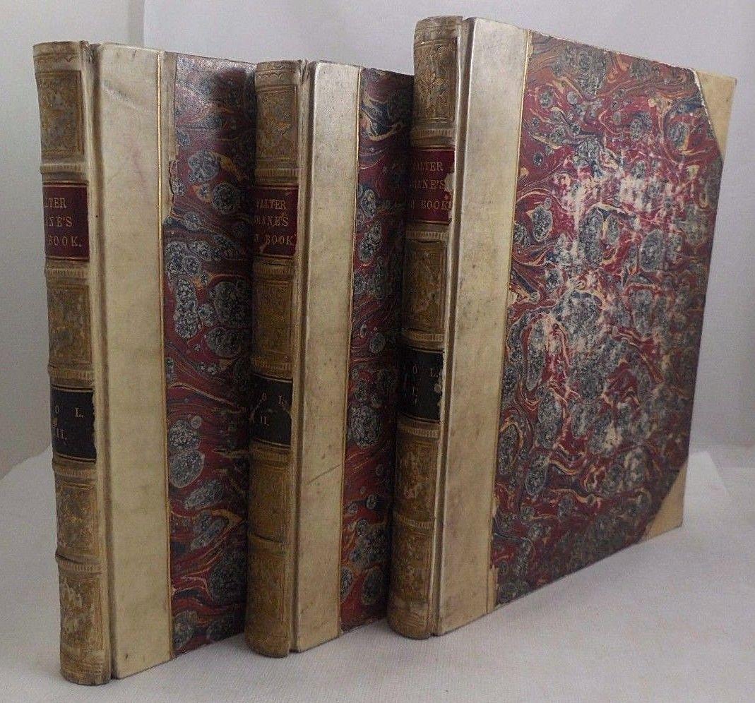 WALTER CRANE'S TOY BOOK - c.1880 [3 Vols]