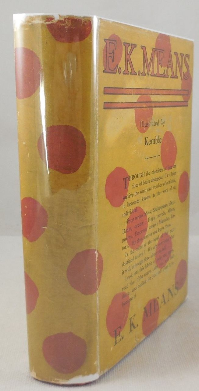 E.K. MEANS, by E.K. Means; E.W. Kemble (illus) - 1918 [Signed, 1st Ed]