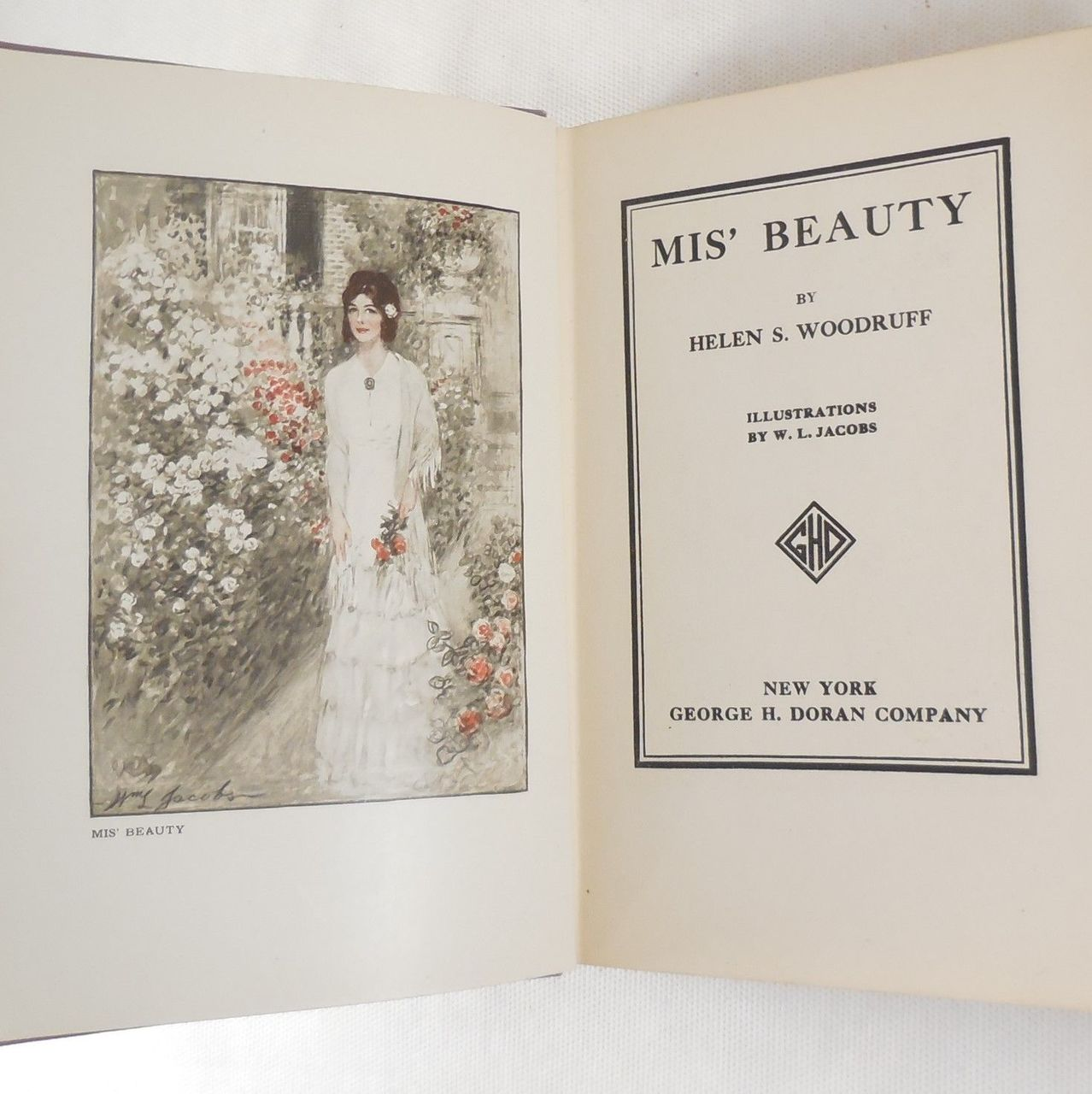 MIS' BEAUTY, by Helen S. Woodruff - 1911 [Signed]