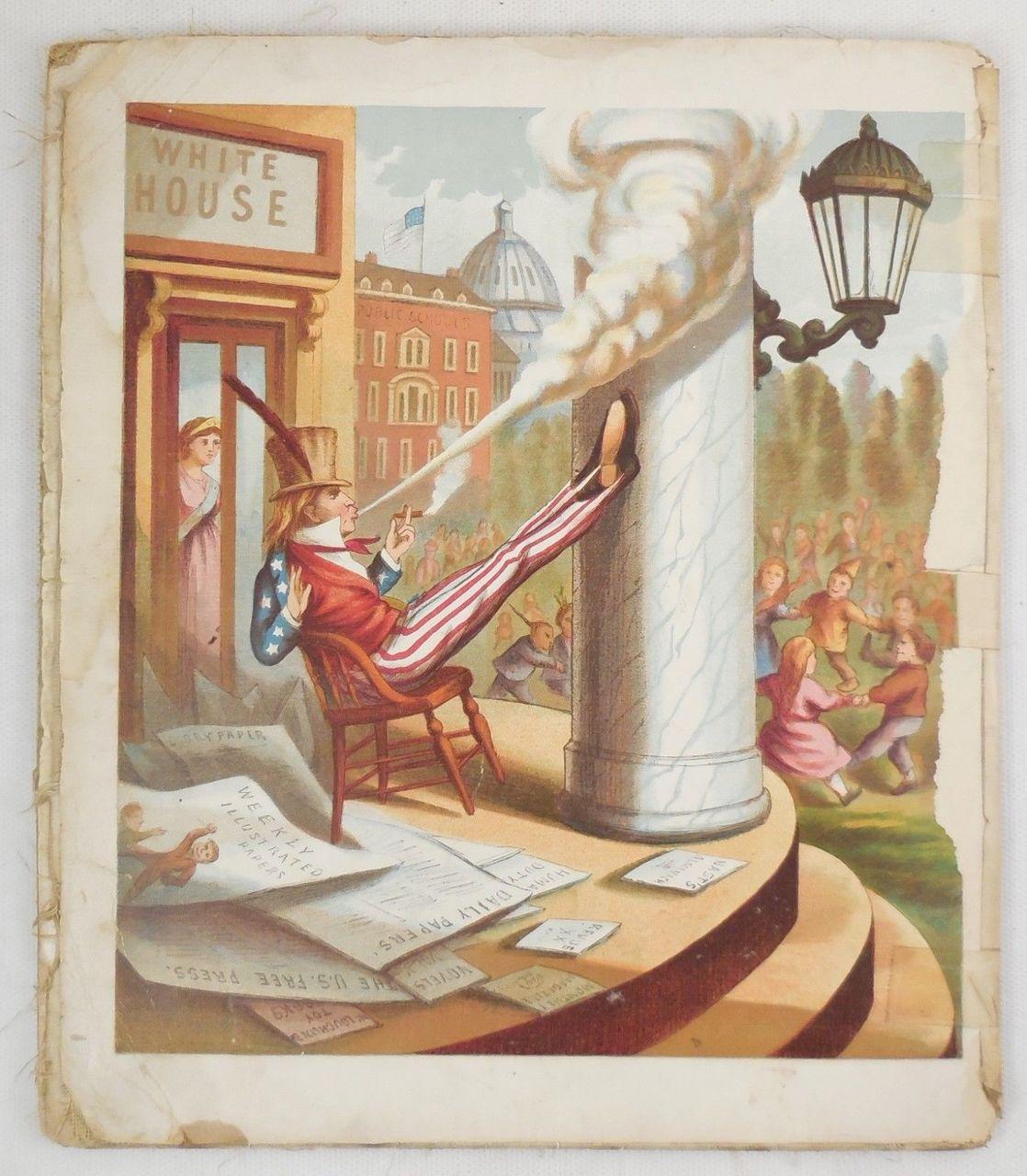 YANKEE DOODLE, by Thomas Nast - c.1880