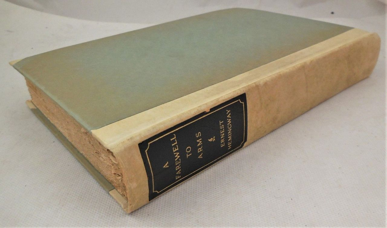 A FAREWELL TO ARMS, by Ernest Hemingway - 1919 [Signed Ltd Ed:141/510]