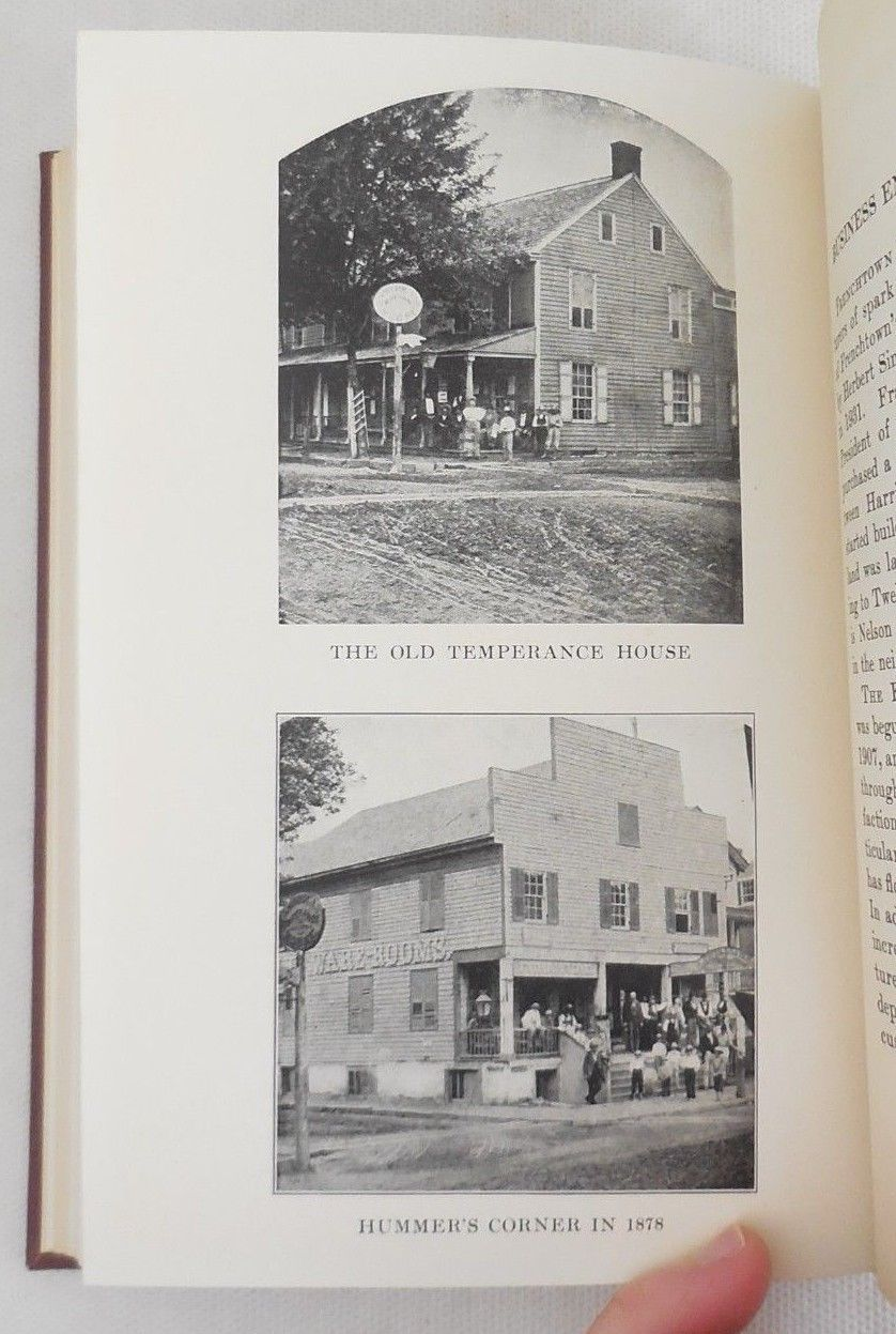 HISTORY OF FRENCHTOWN, by Clarence Fargo - 1933 [1st Ed]