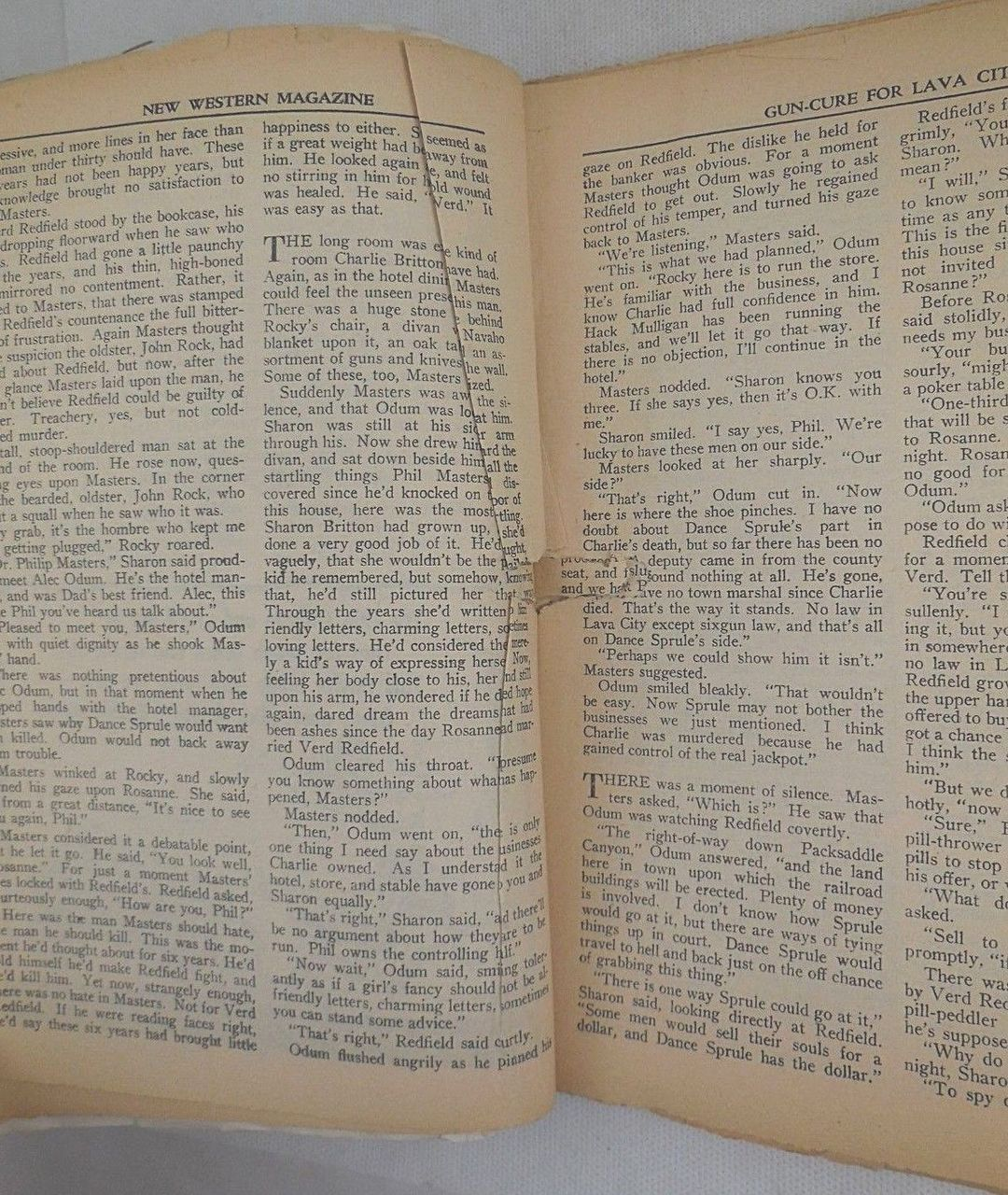 9 WESTERN PULP MAGAZINES [1945]