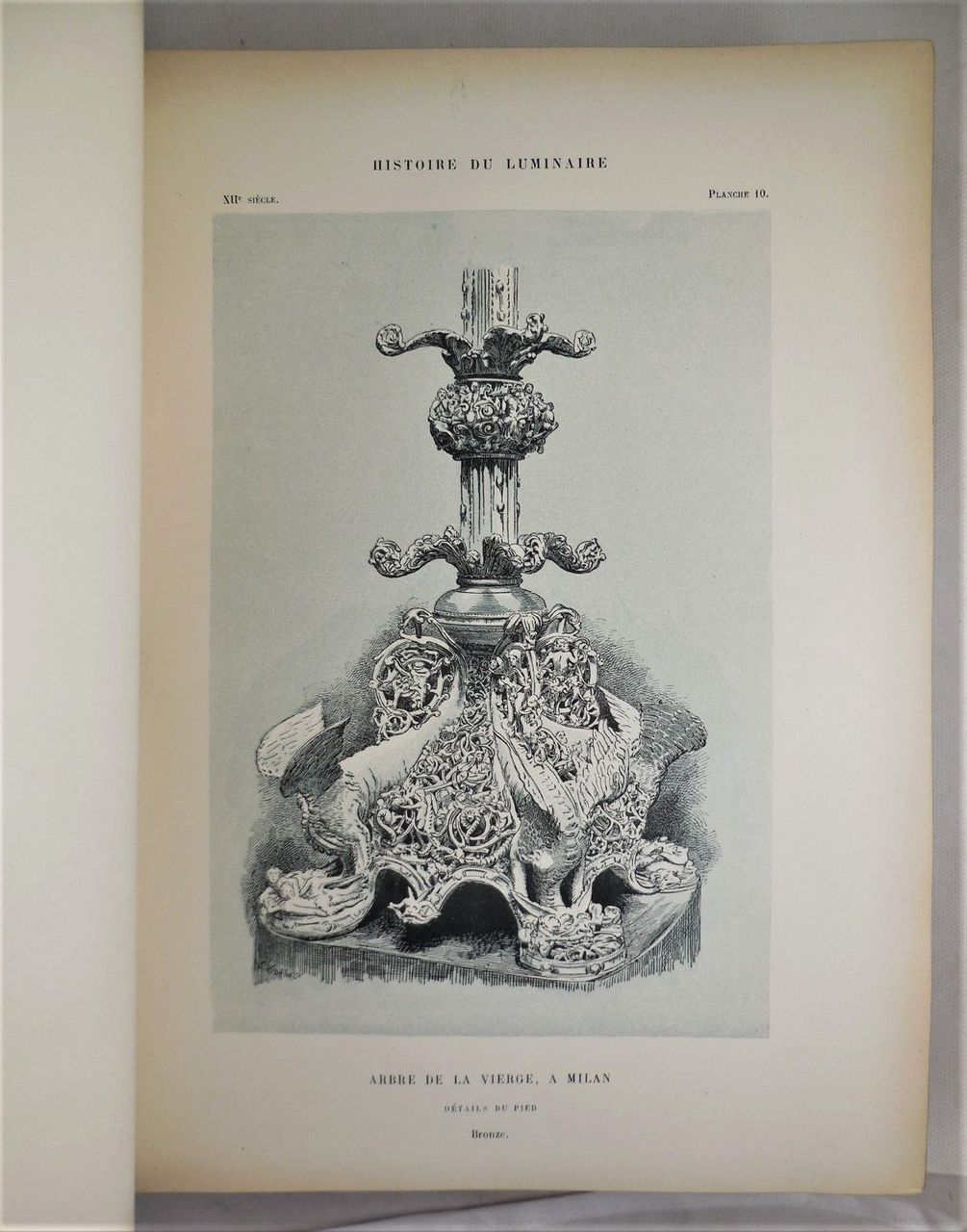 HISTOIRE DU LUMINAIRE, by Henry Rene D'Allemagne; Emile Solvet - 1891 [1st Ed]