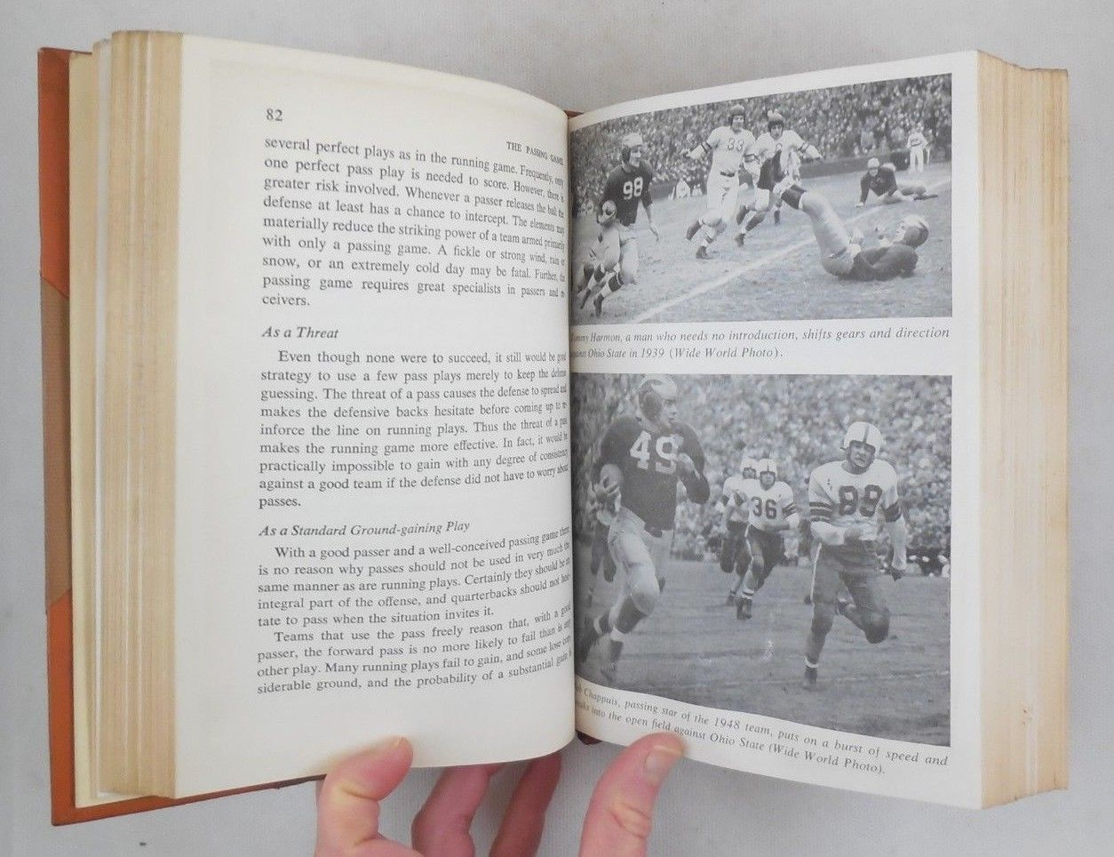 "MODERN FOOTBALL, by H.O. ""Fritz"" Crisler - 1949 [Signed]"