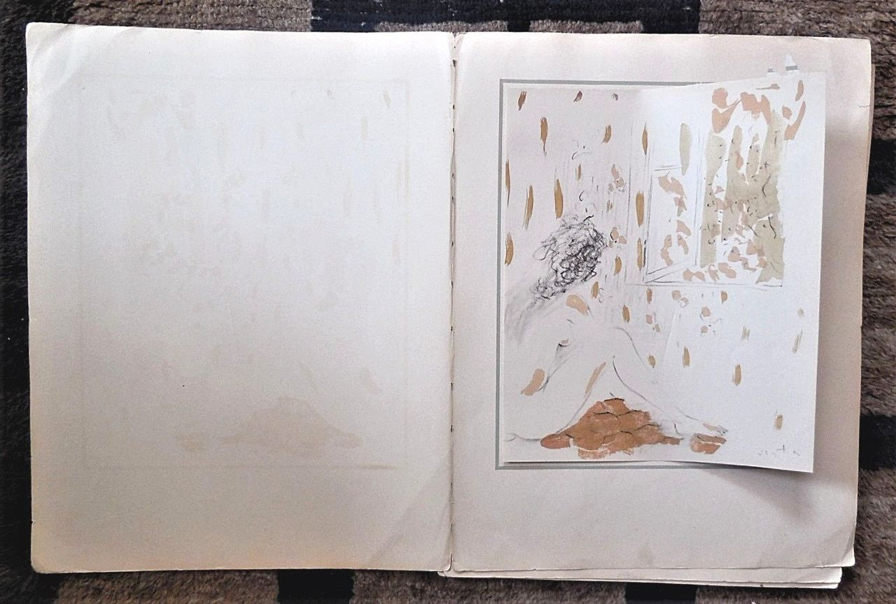 A SUITE OF 8 LITHOGRAPHS, by Marcel Vertes - c.1941 [Signed in Plate]