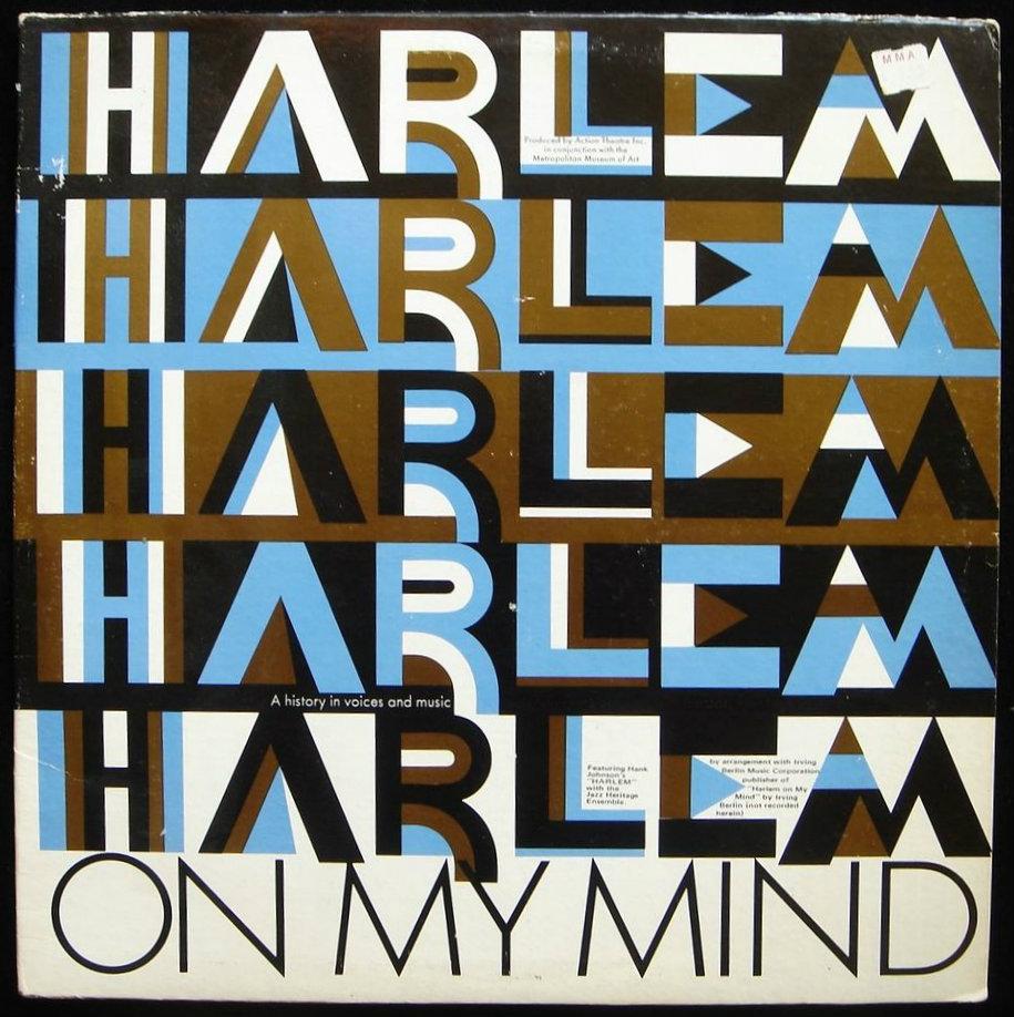 LP: HARLEM ON MY MIND: Black American History - 1969