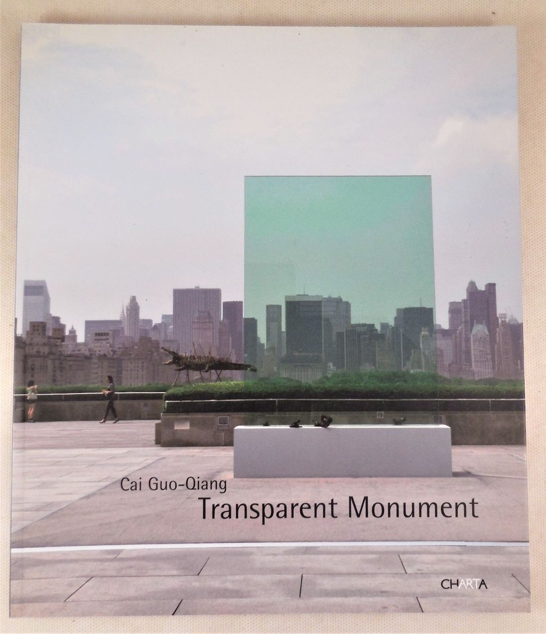 TRANSPARENT MONUMENT, by Cai Guo-Qiang - 2006 [Signed]