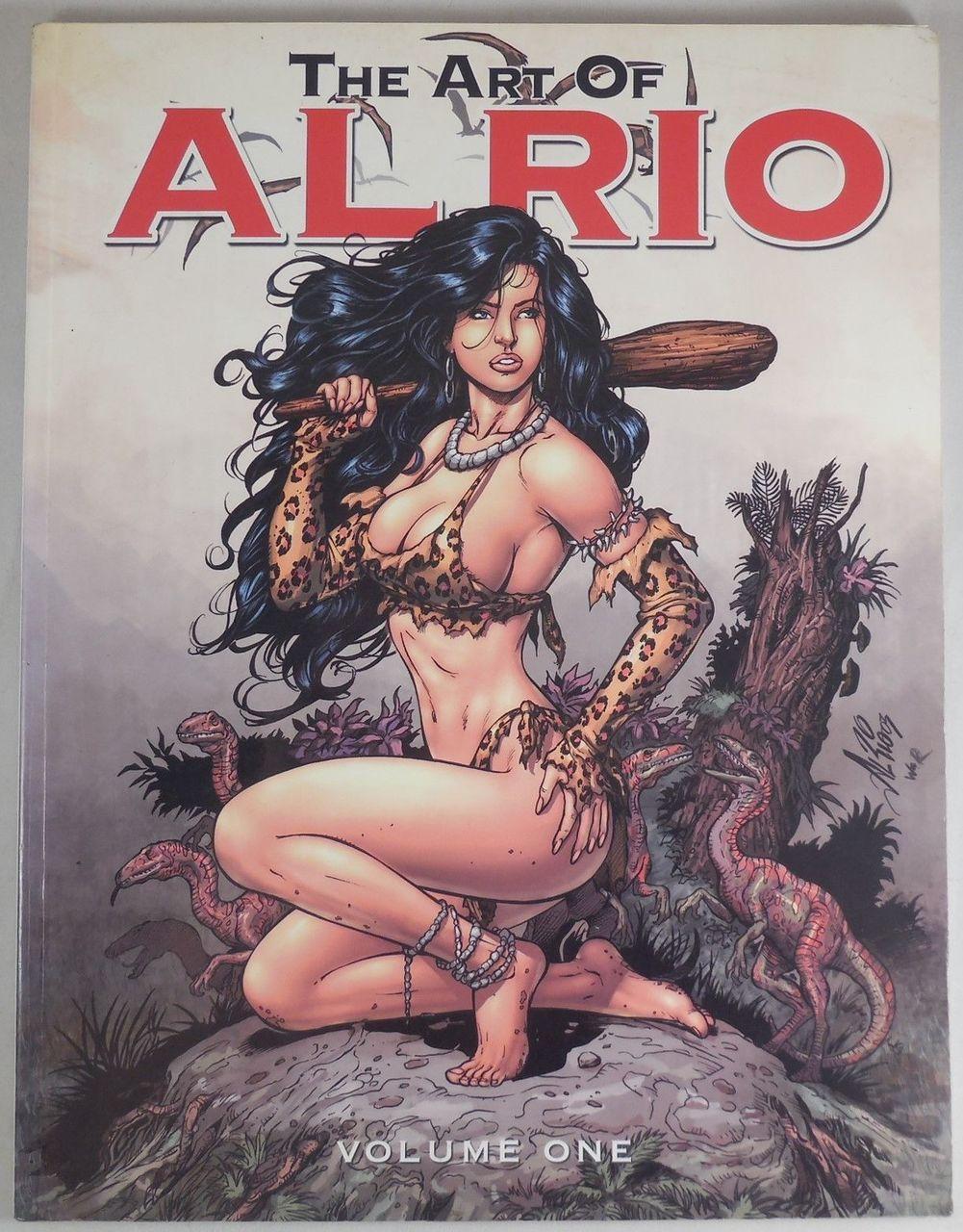 THE ART OF AL RIO: VOL 1, by Al Rio - 2005
